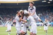 Der FC Lugano will seine allfälligen Europa-League-Spiele in Luzern austragen. (Symbolbild Keystone)