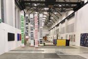 Blick in die Ausstellung NOW 17 in der Turbine Giswil. (Bild: PD)