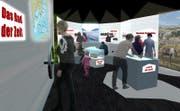 Herzstück des geplanten Erlebnispark ist ein Mammut-Park mit einer multimedialen Ausstellung. (Bild: Visualisierung pronatour GmbH Leobendorf)