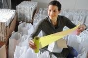 «Wir brauchen mehr Platz», so Franziska Bründler, Gründerin von «Design Schenken». (Bild: Archiv LZ)