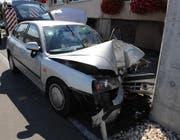 Der Unfallwagen des verstorbenen Mannes. (Bild: Luzerner Polizei)