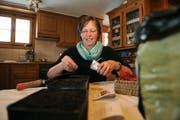 Lisbeth Bruggessers Angebot «Der andere Tag» soll einsamen Menschen helfen, aus dem Alltagstrott auszubrechen. (Bild Corinne Glanzmann/Neue NZ)