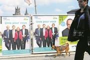 SVP und FDP gehen im Wahlkampf eine bürgerliche Allianz ein. (Bild: Laurent Gillieron/Keystone)
