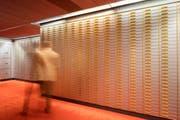 Kundentresorfaecher im Tresorraum in der Bank (Symbolbild) (Bild: Gaetan Bally/Keystone)