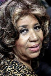 Aretha Franklin im Februar 2011. (Bild: Keystone)