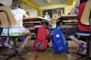 Der Lehrplan 21 wird im Kanton Nidwalden auf den 1. August 2017 eingeführt. (Bild: Keystone)