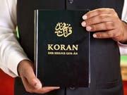 Deutsche Ausgabe des Koran (Archivbild). (Bild: Keystone)