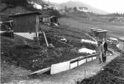 Hier zu sehen ist die erste Bauetappe für die Gärten auf dem Areal Ruopigenmoos. (Bild: PD)