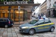 Niederlassung der Credit Suisse in Mailand. (Bild: Martin Rütschi/Keystone)