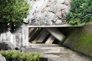 So soll der Gletschergarten zukünftig aussehen. (Bild: Visualisierung Miller & Maranta Architekten, Basel)