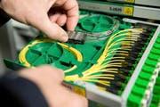 Die Swisscom beginnt noch in diesem Jahr im Bezirk Küssnacht mit dem Ausbau der neuesten Glasfasertechnologien. (Bild PD)