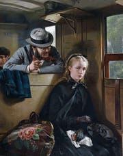 Sexismus im 19. Jahrhundert: Berthold Woltze und sein Gemälde «Der lästige Kavalier».Bild: (Bild: Wikimedia)