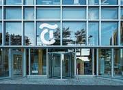 Aussenansicht des Tamedia-Gebäudes in Zürich. (Bild: Christian Beutler/Keystone (11. Juli 2013))