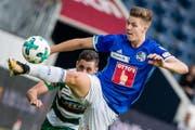 Cédric Itten kehrt zum FC Basel zurück. (Bild: Philipp Schmidli (Luzern, 12. August 2017))