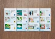 Nächste Woche werden 600 Plakate und 28 000 Flyer die Druckerei verlassen. Das Bild zeigt einen Ausschnitt des Flyers. (Bild: PD)