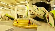 Die vergrösserte Boulderhalle in Kriens. (Bild: PD)