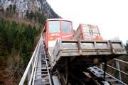 Die Stoosbahn. (Bild Erhard Gick/Neue SZ)