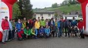 Wandern für einen guten Zweck: Teilnehmer in Hergiswil am Napf. (Bild: zvg)