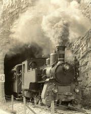 Die prächtige Brünig-Dampflokomotive HG 3/3 1068 soll restauriert werden. (Bild: pd)