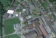 Das Industrieareal Turbi in Hochdorf. (Bild: Google Maps)