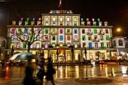 Das Hotel Schweizerhof in Luzern. (Bild: Boris Bürgisser)