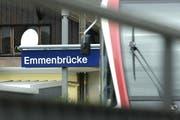 Der Bahnhof in Emmenbrücke. (Archivbild / Neue LZ)