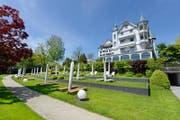 Das Hotel Park Weggis, wo, man erinnere sich, die Schweizer Nati sich auf die Weltmeisterschaft in Brasilien vorbereitete. (Bild: Dominik Wunderli/LZ)