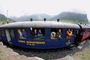Noch ist ungewiss, ob die Touristen am 23. Juni dieses Jahres aus den fahrenden Zügen winken können. (Bild: Urs Hanhart / Neue UZ)