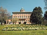 Im Park der Villa Ciani in Lugano spielen Blumen die Hauptrolle.