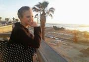Nina Mueller an der Strandpromenade von Tel Aviv. (Bild: PD)