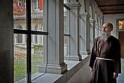 Im Kloster Wesemlin: Provinzial Agostino Del-Pietro ist der neue Leiter der Kapuziner in der Schweiz. (Bild Pius Amrein)