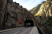 Die Teufelsbrücke im Kanton Uri. (Bild: Archiv Neue LZ)