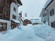 Andermatt macht der Schnee zu schaffen. (Bilder: Andermatt Swiss Alps (Andermatt, 22. 1. 2018))