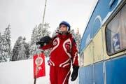 Andres Lustenberger hat die Skischule Rigi während 38 Jahren geleitet und gibt seit 48 Jahren Skikurse. Nach diesem Winter hört er auf. (Bild: Corinne Glanzmann / Neue LZ)