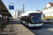 So sieht der neue Solo-Bus mit der riesigen Frontscheibe aus. (Bild: pd)