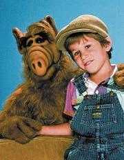 Alf mit Brian Tanner. (Bild: PD)