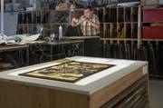 Am Hirschengraben gibt es den einzigen Betrieb im Kanton Luzern für Glasmalerei. (Bild: Nadia Schärli / Neue LZ)