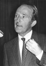 Peter Knüsel war von 1969-1981 im Luzerner Regierungsrat sowie von 1971 bis 1987 im Ständerat.