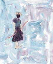 Rebekka Steiger, «Amor approximately». Öl auf Leinwand, 210 x 180 cm. (Bild: Rebekka Steiger/PD)