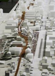 Das Zentrum von Ebikon, wie es im Masterplan angedacht ist. (Bild: PD)