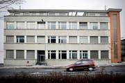 Die von der GBH beworbene Liegenschaft Friedentalstrasse 40 in Luzern. (Bild Pius Amrein/Neue LZ)