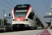 Ein Zug der Linie S1 unterwegs in Richtung Baar. (Archivbild LZ)