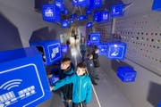 Die Ausstellung behandelt die Anfänge und Entwicklungen des Bahnreisens, die Digitalisierung und die Mobilität der Zukunft. (Bild: Eveline Beerkircher / PPR)