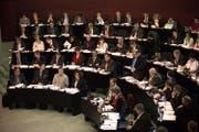 Blick ins Luzerner Kantonsparlament. (Bild: Archiv Jakob Ineichen / Neue LZ)