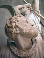 Detailaufnahme des Winkelried-Denkmals. (Bild: PD)