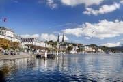 Die Stadt Luzern konnte 2017 bei der Anzahl Logiernächte deutlich zulegen. (Bild: Luzern Tourismus)