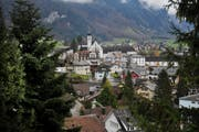 Ein Blick auf Engelberg Dorf. (Bild: Corinne Glanzmann / Neue LZ)
