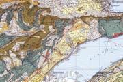 Ausschnitt aus der Karte von Swisstopo (Bild: zvg)