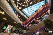 Blick in die Mall am Eröffnungstag. (Bild: Dominik Wunderli)