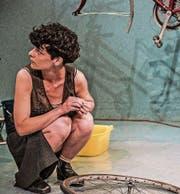 Sarah Hostettler in «Welches Jahr haben wir gerade?». (Bild: Raphael Hadad)